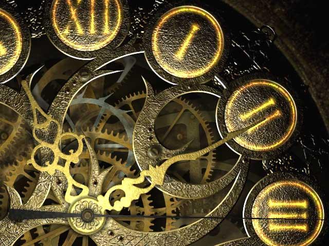 Clock Image By auroracoda