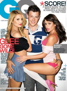 "GQ Cover, ""Glee Gone Wild"" 2010"